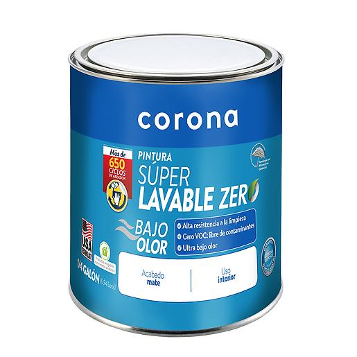 Pintura Superlavable Zero Super Blanco